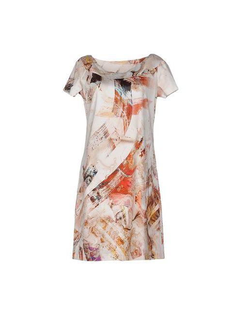 Brebis Noir | Женское Бежевое Короткое Платье