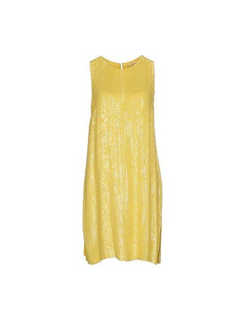 P.A.R.O.S.H. | Женское Жёлтое Короткое Платье