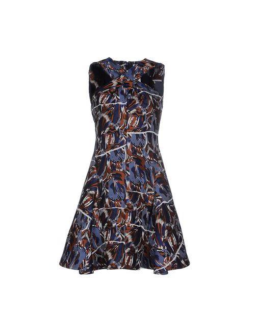 Kenzo | Женское Синее Короткое Платье