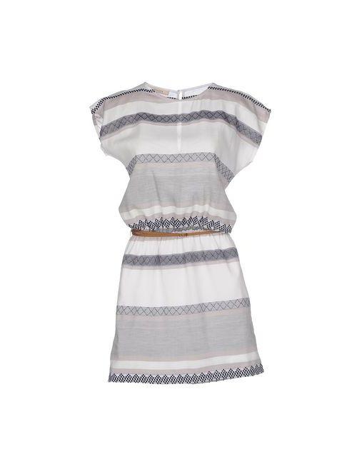 Sessun | Женское Серое Короткое Платье