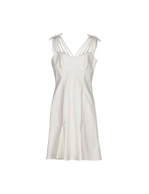 Moschino Cheap and Chic | Женское Белое Короткое Платье