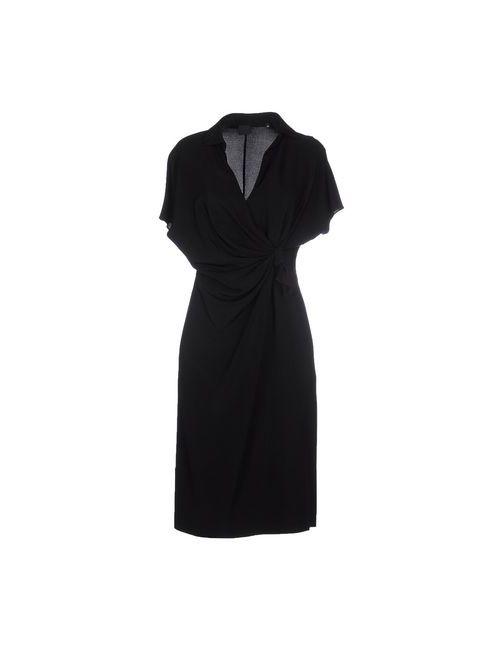 Aspesi | Женское Черный Платье До Колена