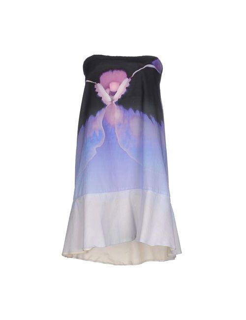Dondup | Женское Фиолетовое Короткое Платье