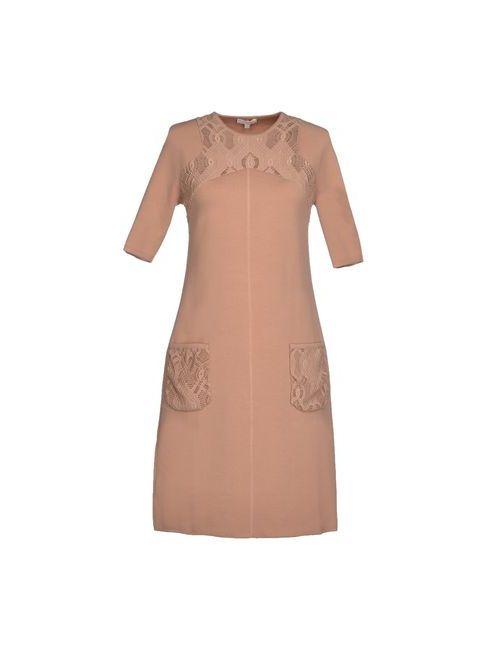 Vicedomini | Женское Телесное Короткое Платье