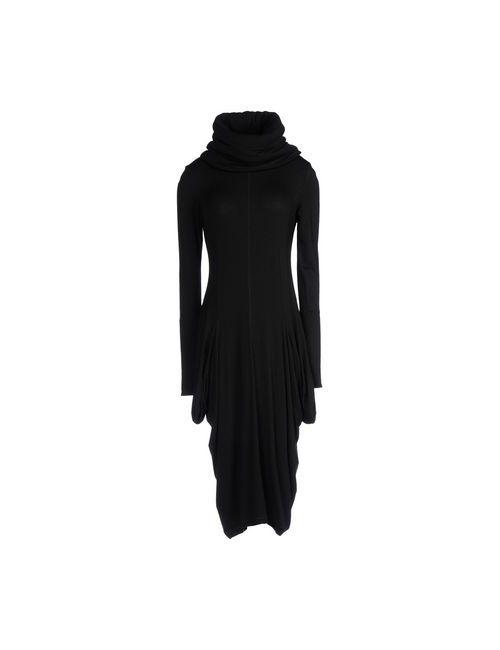 Oblique   Женское Чёрное Платье До Колена