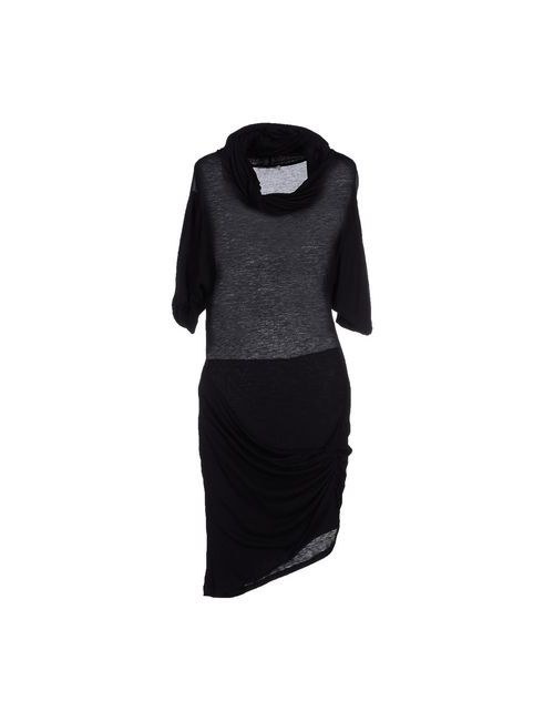 Pinko Grey | Женское Черный Платье До Колена