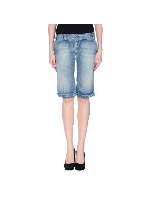 Pepe Jeans | Женские Синие Джинсовые Бермуды