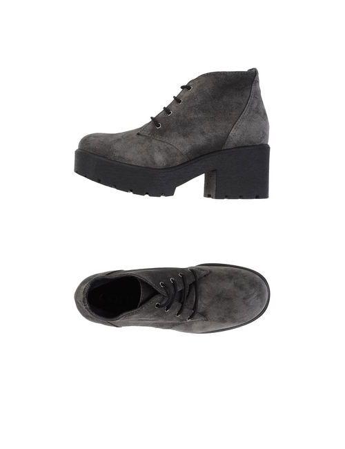 Gotiè Paris | Женская Серая Обувь На Шнурках