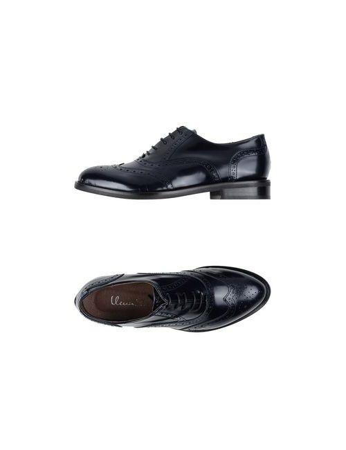 Ilenia P. | Женская Синяя Обувь На Шнурках