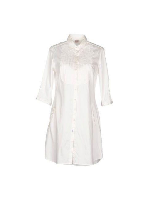 OTTO ASOLE | Женское Белое Короткое Платье