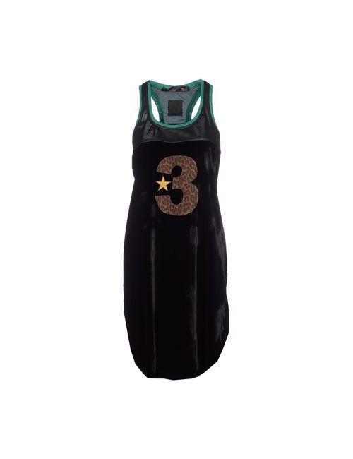 TRE CINQUE SETTE | Чёрное Платье До Колена