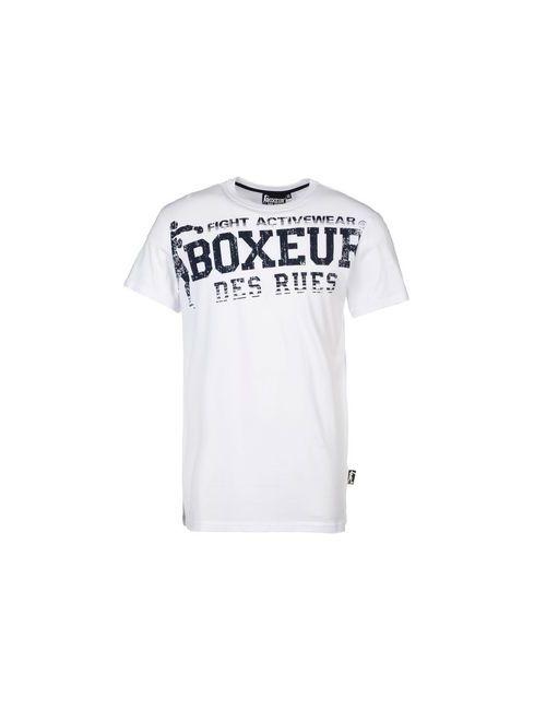Boxeur Des Rues | Мужская Белая Футболка