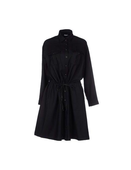 YOSHI KONDO   Женское Чёрное Короткое Платье