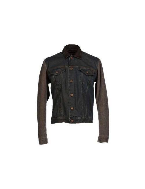 Gj Gaudi' Jeans   Мужская Чёрная Джинсовая Верхняя Одежда