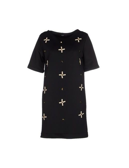 Hefty | Женское Чёрное Короткое Платье