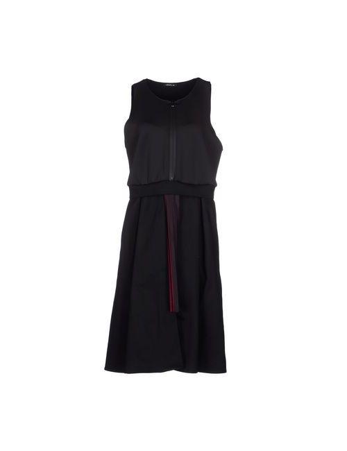 MINIMAL TO   Женское Чёрное Платье До Колена