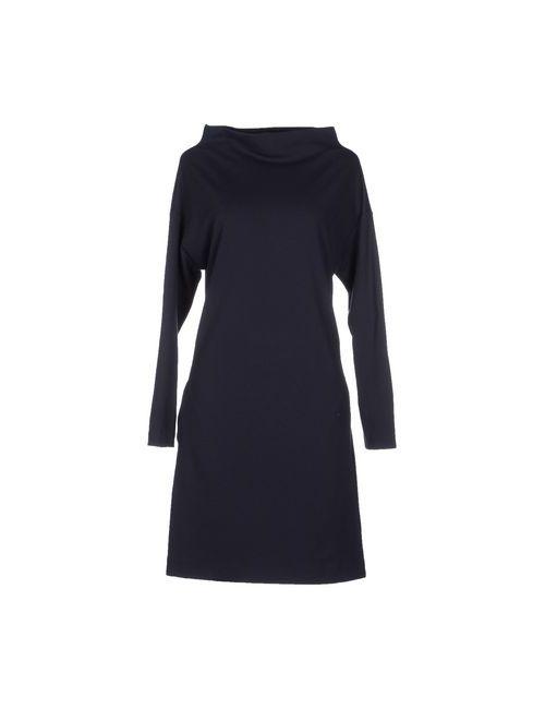 Walter Voulaz | Женское Синее Короткое Платье