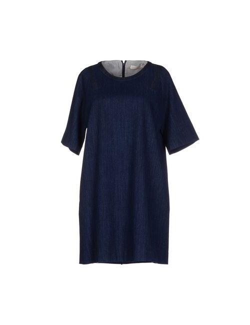 Tela | Женское Синее Короткое Платье