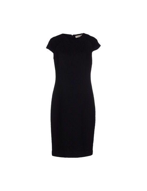 Tory Burch | Женское Чёрное Короткое Платье