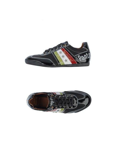Pantofola d'Oro | Мужские Чёрные Низкие Кеды И Кроссовки