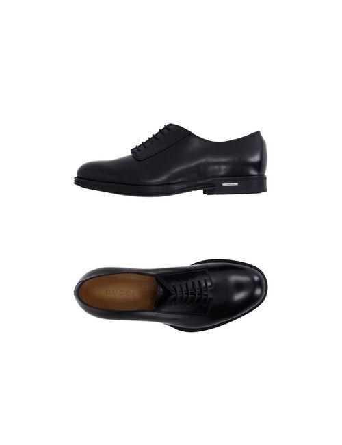 Gucci | Мужская Черный Обувь На Шнурках