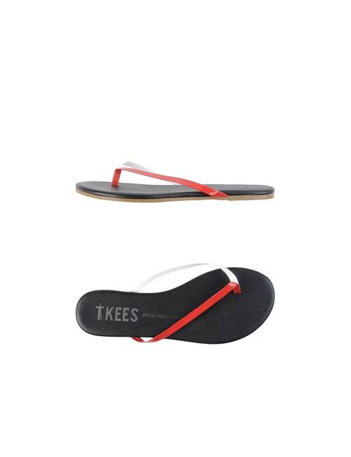TKEES | Женские Красные Вьетнамки