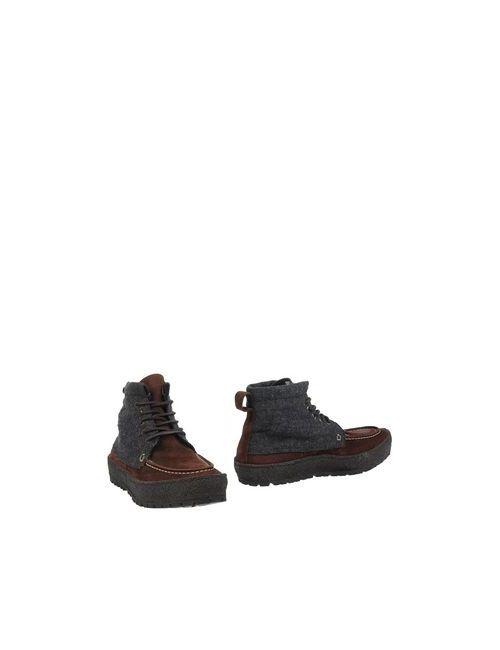 Punto Pigro | Мужские Серые Полусапоги И Высокие Ботинки