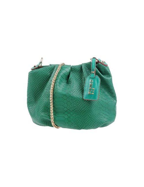 Pinko Bag | Женская Зелёная Сумка Через Плечо