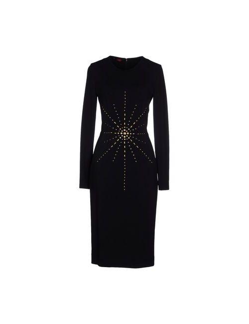 TAMARA MELLON | Женское Чёрное Платье До Колена