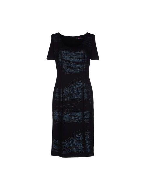 Versus | Женское Чёрный Платье До Колена