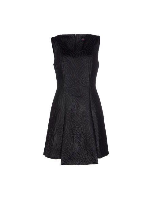 Versus   Женское Чёрное Короткое Платье