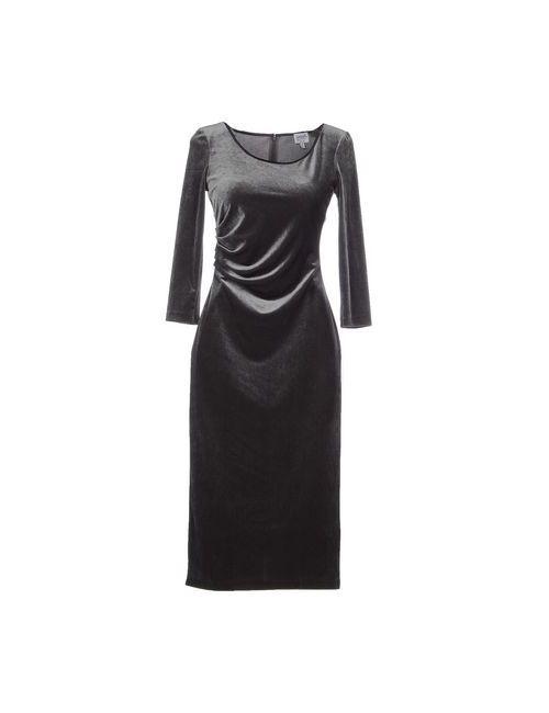 Armani Collezioni | Женское Серое Платье До Колена