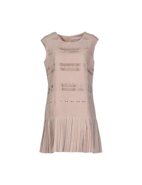 MAGASIN DES DEMOISELLES | Женское Серое Короткое Платье