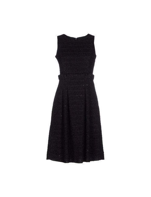 Armani Collezioni | Женское Черный Короткое Платье