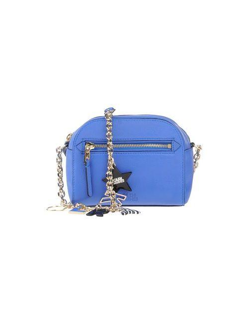 Karl Lagerfeld | Женская Синяя Сумка Через Плечо