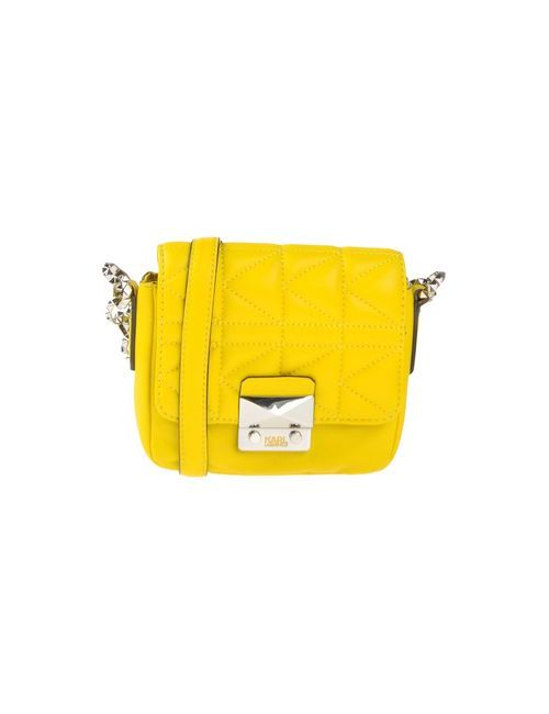 Karl Lagerfeld | Женская Жёлтая Сумка Через Плечо