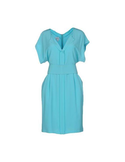 Armani Collezioni | Женское Голубое Короткое Платье