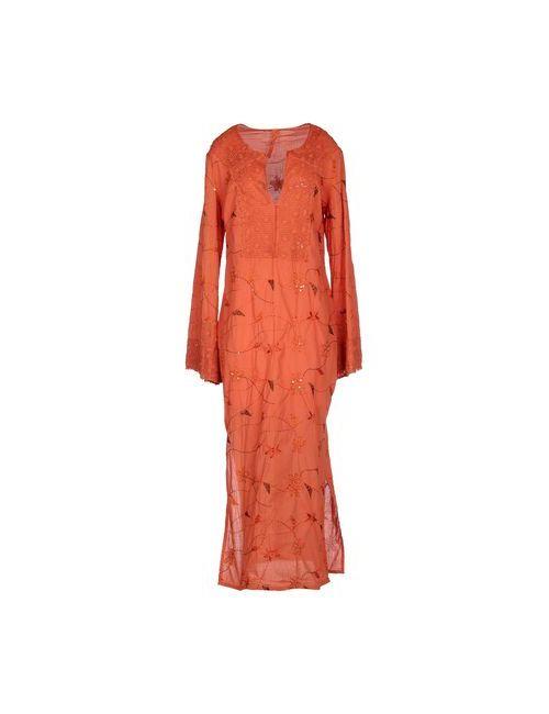 Roberta Guercini | Женское Оранжевое Длинное Платье