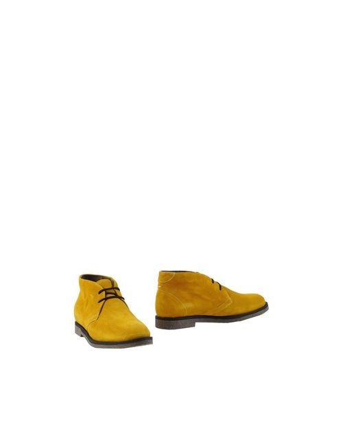 MEMPHIS ONE | Женские Жёлтые Ботинки