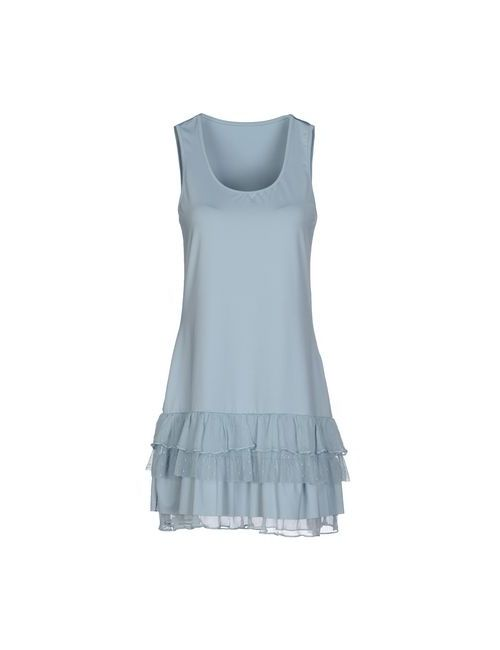 Twin-Set Simona Barbieri | Женское Голубой Короткое Платье