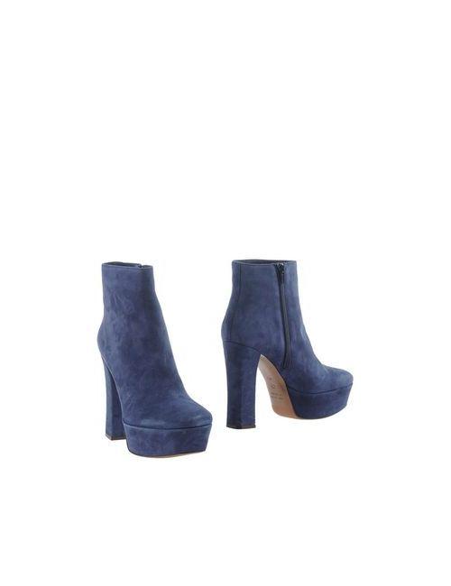 L' Autre Chose | Женские Синие Полусапоги И Высокие Ботинки