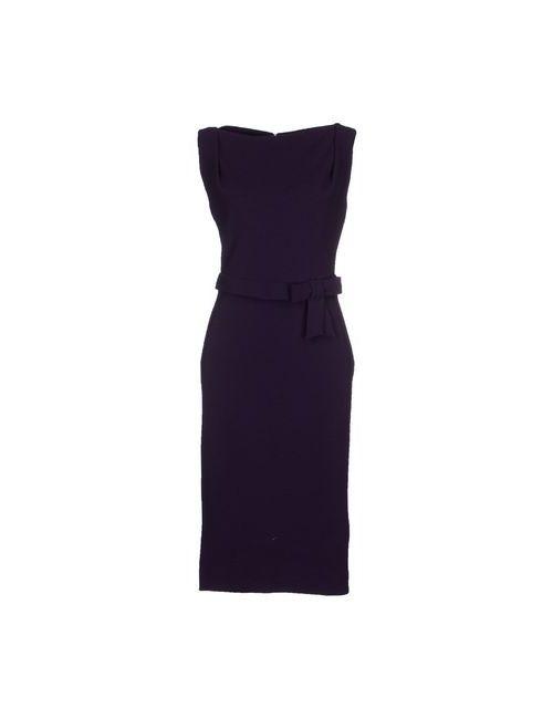 Dsquared2 | Женское Фиолетовое Платье До Колена