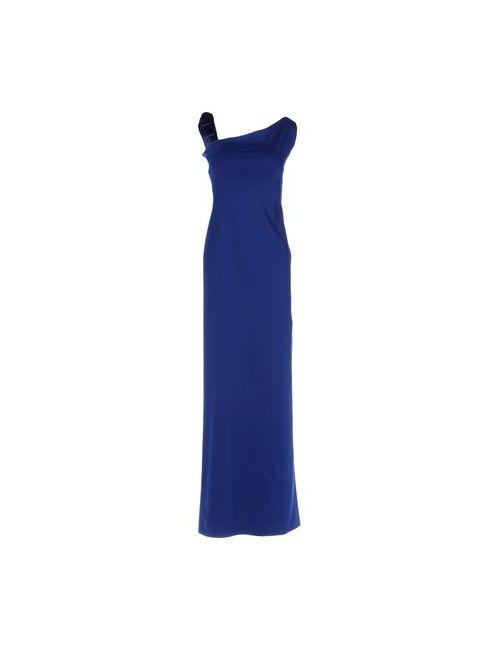 Dsquared2   Женское Синее Длинное Платье