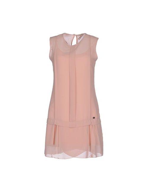 Fly Girl   Женское Розовое Короткое Платье