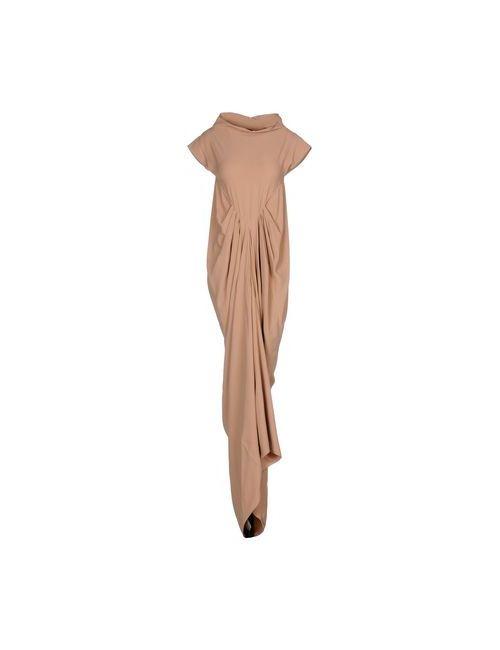 Rick Owens | Женское Телесное Длинное Платье