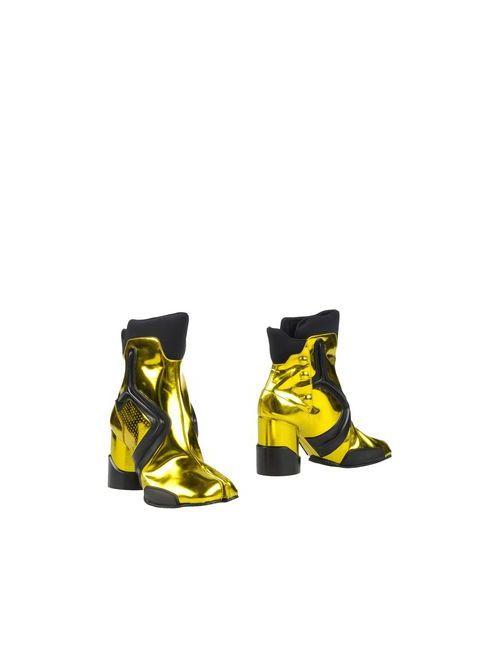 Maison Margiela   Женские Жёлтые Полусапоги И Высокие Ботинки