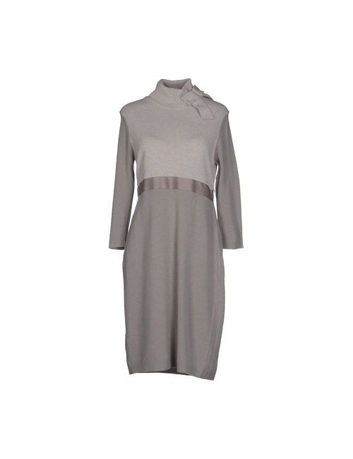 Bramante | Женское Серое Короткое Платье