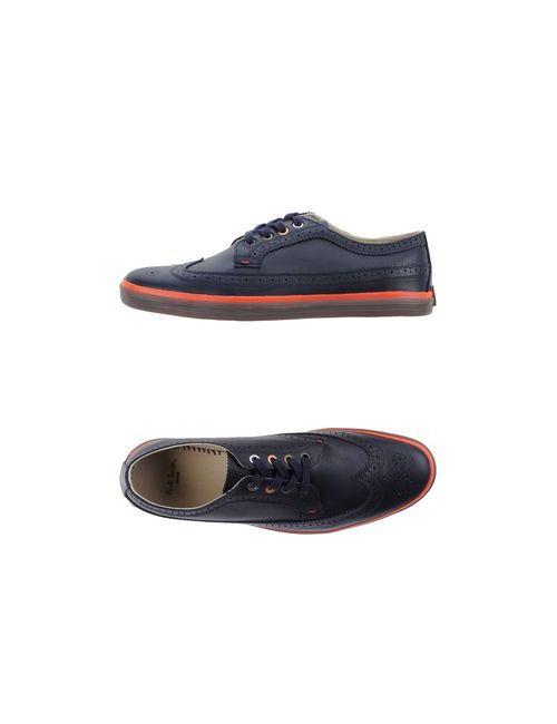 Paul Smith Jeans | Мужская Синяя Обувь На Шнурках