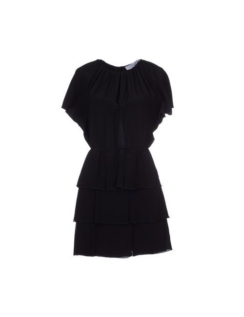 Francesca Piccini | Женское Чёрное Короткое Платье
