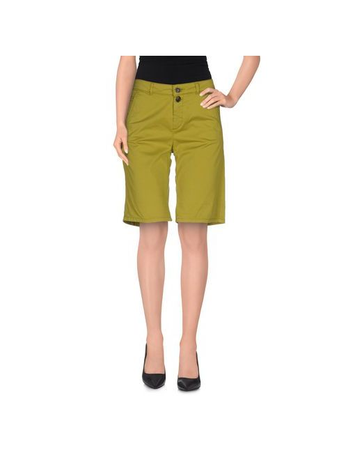 Woolrich | Женские Зелёные Бермуды